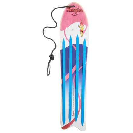 Snurfer Rambler Snowboard in Red/Blue - Closeouts