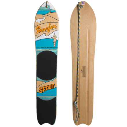 Snurfer Scout Snowboard in See Photo - Closeouts