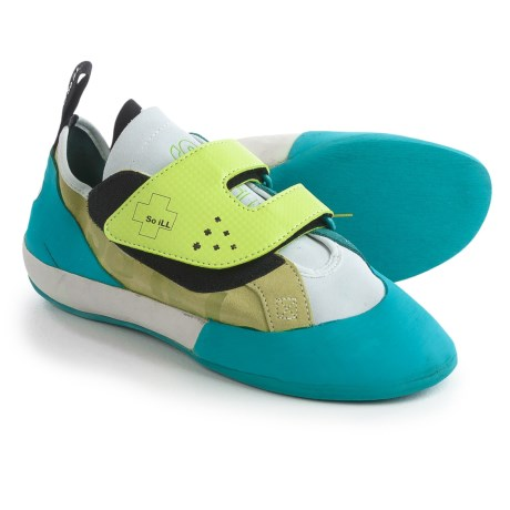 So iLL The Bowler Climbing Shoes - Suede (For Men and Women) in Green
