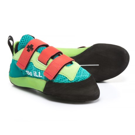 So iLL The Runner LV Climbing Shoes (For Women) in Green/Blue/Coral