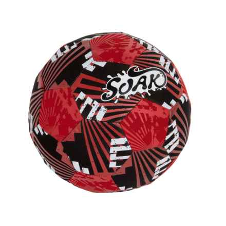 Soak USA Amphibious Soccer Ball in Red - Closeouts