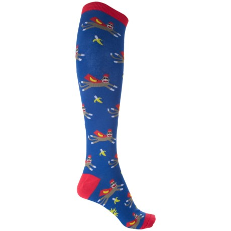Sock It To Me Funky Socks - Over the Calf (For Women)