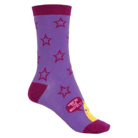 Sock It To Me Socks - Crew (For Women) in Bestest Chick - Closeouts