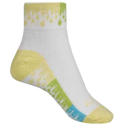 "SockGuy 2"" Cuff Socks - Lightweight, Ankle (For Women) in Wet Paint - Closeouts"