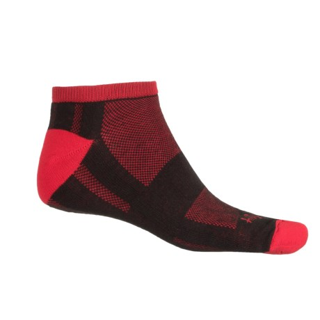 SockGuy Channel Air Socks - Ankle (For Men and Women) in Fire