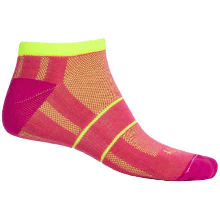 SockGuy Channel Air Socks - Ankle (For Men and Women) in Punch Bowl - Closeouts