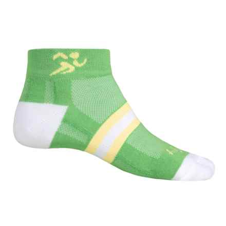 SockGuy Channel Air Socks - Ankle, Lightweight (For Men and Women) in Runner 3 - Closeouts