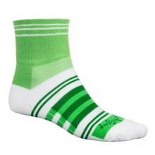 SockGuy Classic Sport Socks - Ankle (For Men and Women) in Sport Green - Closeouts