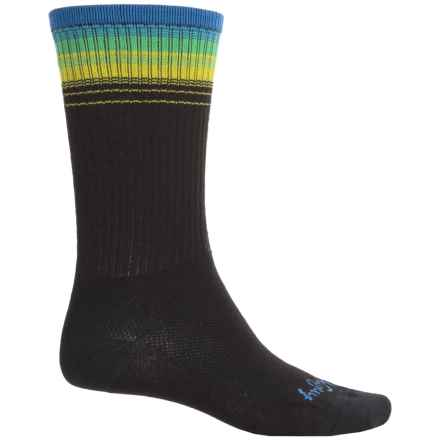 SockGuy High-Performance Socks - Crew (For Men and Women) in Pacific - Closeouts