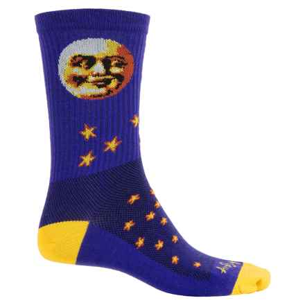 SockGuy Merino Wool Socks - Crew (For Men and Women) in Moon Head - Closeouts