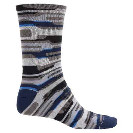 SockGuy Merino Wool Socks - Crew (For Men and Women) in Rugrat - Closeouts