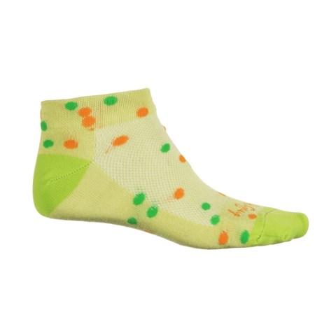 SockGuy Print-Cuff Socks - Ankle (For Women)