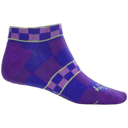SockGuy Print-Cuff Socks - Ankle (For Women) in Finish - Closeouts