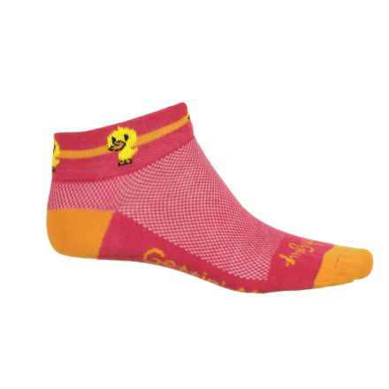 SockGuy Print-Cuff Socks - Ankle (For Women) in Quack - Closeouts