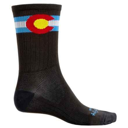 "SockGuy SGX 6"" Socks - Crew (For Men and Women) in Colorado - Closeouts"
