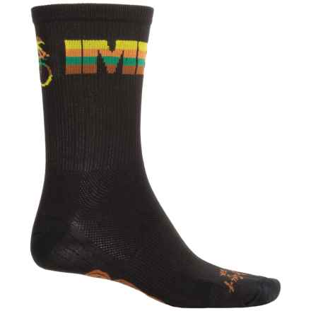 "SockGuy SGX 6"" Socks - Crew (For Men and Women) in Imba - Closeouts"