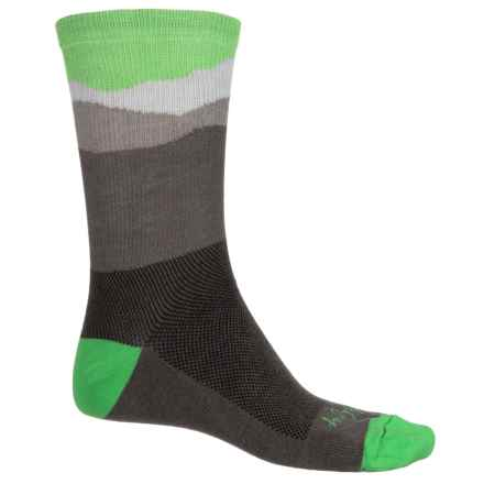 SockGuy Socks - Crew (For Men and Women) in Landscape - Closeouts