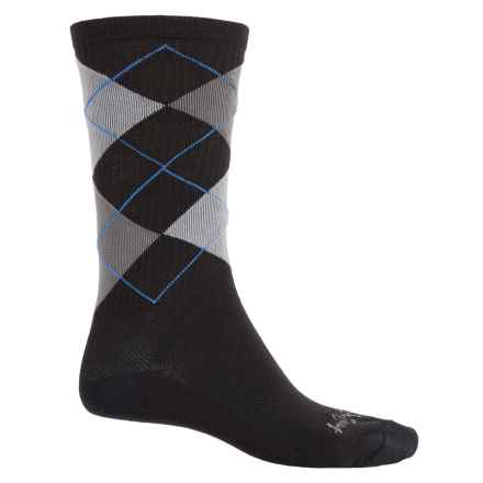 SockGuy Socks - Crew (For Men and Women) in Stay Classy - Closeouts