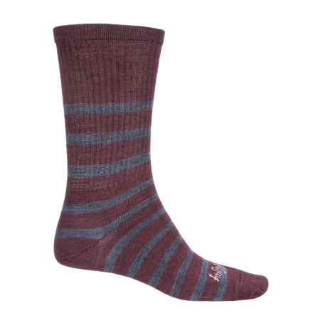 SockGuy TurboWool Socks - Crew (For Men and Women) in Gents - Closeouts