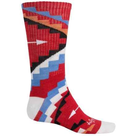 SockGuy Turbowool Socks - Crew (For Men and Women) in Native - Closeouts