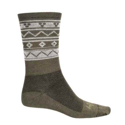 SockGuy TurboWool Socks - Crew (For Men and Women) in Paradigm - Closeouts