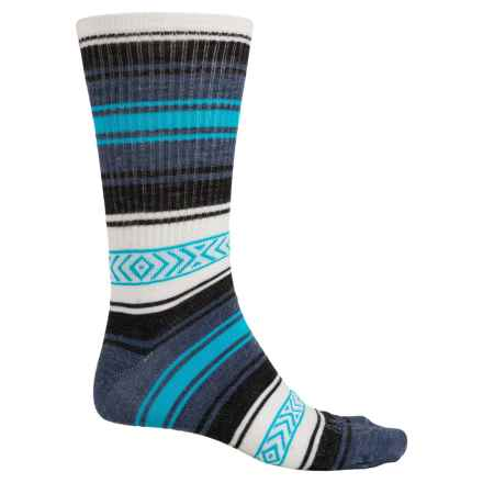 SockGuy Turbowool Socks - Crew (For Men and Women) in Poncho - Closeouts