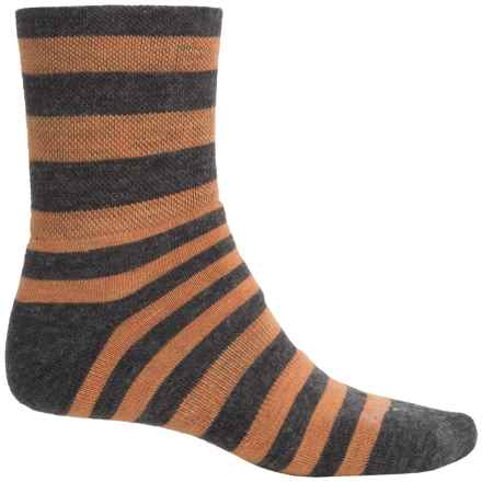 Sockguy Wooligan Socks - Crew (For Men and Women) in Arctic Sun - Closeouts