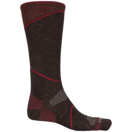 Sockwell Ascend Compression Socks - Merino Wool, Over the Calf (For Men) in Espresso - Closeouts