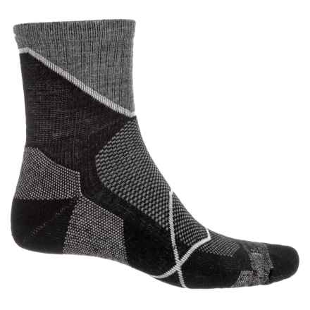 Sockwell Ascend Moderate Compression Socks - Ankle (For Men) in Black - Closeouts