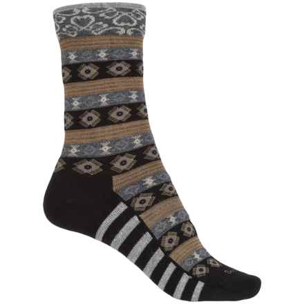 Sockwell Bandeau Socks - Merino Wool, Crew (For Women) in Black - Closeouts