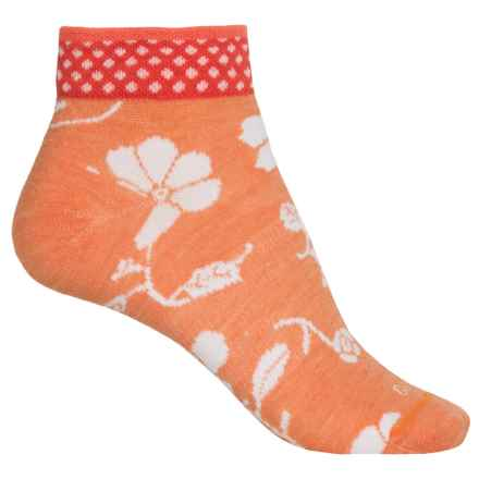 Sockwell Botany Pop Socks - Merino Wool, Ankle (For Women) in Tangy - Closeouts