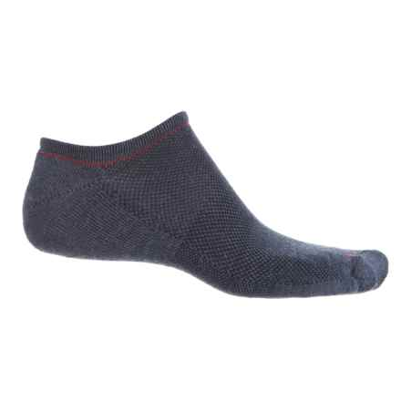 Sockwell Covert Cushion Micro Lo Liner Socks - Below the Ankle (For Men) in Denim - Closeouts