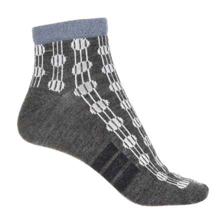 Sockwell Deco Dots Shortie Socks - Ankle (For Women) in Charcoal - Closeouts