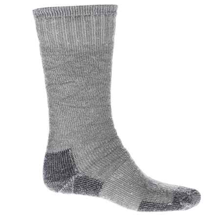 Sockwell Expedition Hiking Socks - Merino Wool, Mid Calf (For Men and Women) in Black - Closeouts
