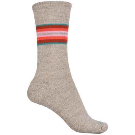 Sockwell Hot Springs Socks - Merino Wool, Crew (For Women) in Khaki - Closeouts