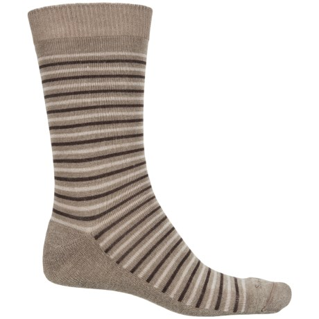Sockwell Kick Back Socks - Merino Wool, Crew (For Men) in Khaki