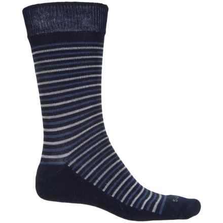 Sockwell Kick Back Socks - Merino Wool, Crew (For Men) in Navy - Closeouts