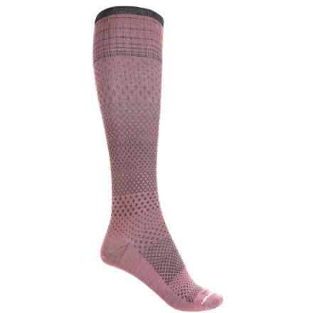 Sockwell Micrograde Socks - Over the Calf (For Women) in Rose - Closeouts