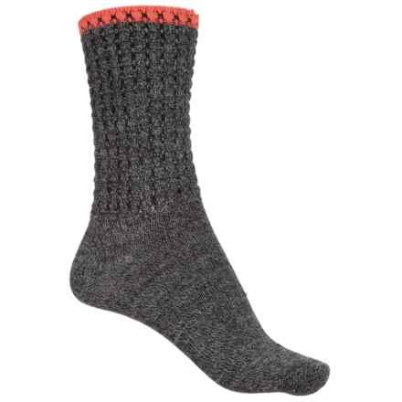 Sockwell Morning Tide Socks - Merino Wool, Crew (For Women) in Charcoal - Closeouts