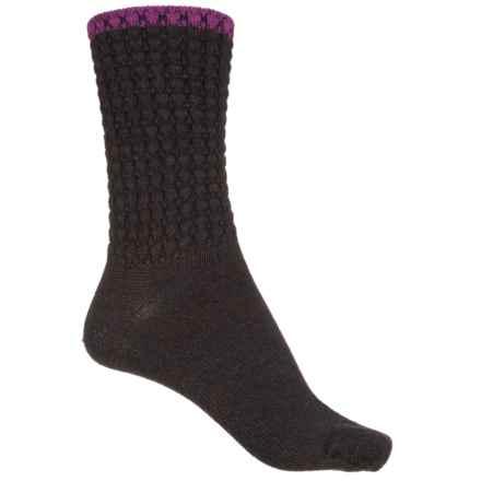 Sockwell Morning Tide Socks - Merino Wool, Crew (For Women) in Espresso - Closeouts