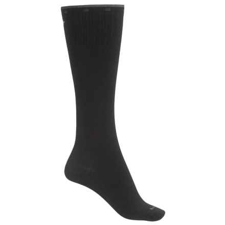 Sockwell On the Spot Compression Socks - Merino Wool, Over the Calf (For Women) in Black - Closeouts