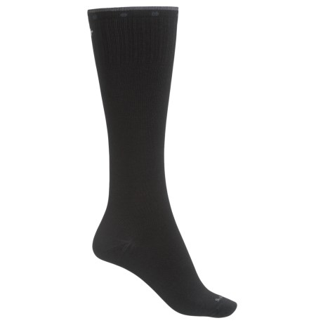 Sockwell On the Spot Compression Socks - Merino Wool, Over the Calf (For Women) in Black