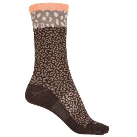 Sockwell Sheetah Socks - Merino Wool, Crew (For Women) in Espresso - Closeouts