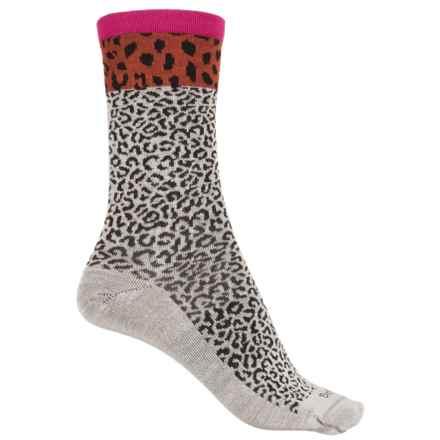 Sockwell Sheetah Socks - Merino Wool, Crew (For Women) in Natural - Closeouts