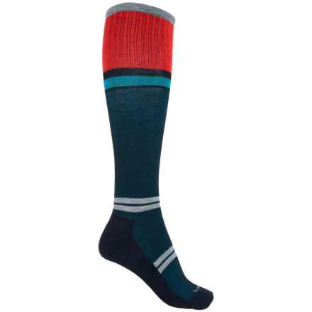 Sockwell Sport Flirt Socks - Merino Wool, Over the Calf (For Women) in Navy - Closeouts