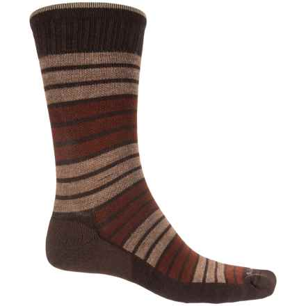 Sockwell Synergy Socks - Merino Wool, Crew (For Men) in Espresso - Closeouts