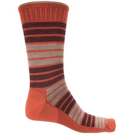 Sockwell Synergy Socks - Merino Wool, Crew (For Men) in Ginger - Closeouts