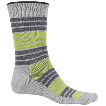 Sockwell Synergy Socks - Merino Wool, Crew (For Men) in Grey - Closeouts