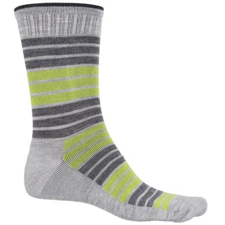 Sockwell Synergy Socks - Merino Wool, Crew (For Men) in Grey