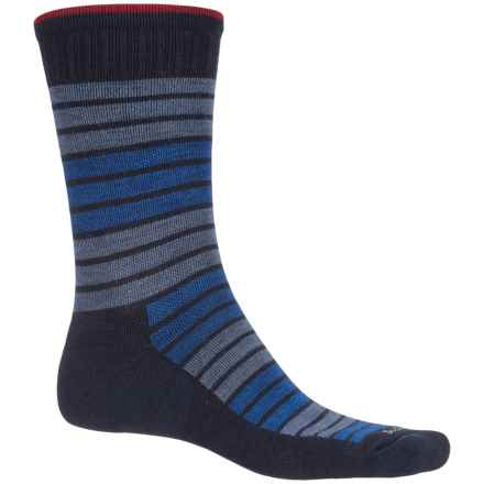 Sockwell Synergy Socks - Merino Wool, Crew (For Men) in Navy - Closeouts
